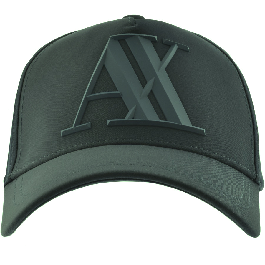 aa70e692c Armani Exchange Logo Cap Green | Mainline Menswear