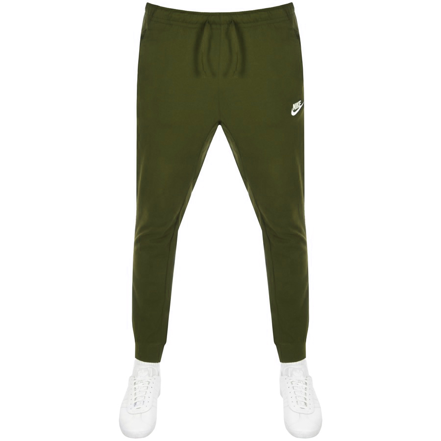 567c3e2dc19d5 Product Image for Nike Standard Fit Club Jogging Bottoms Green