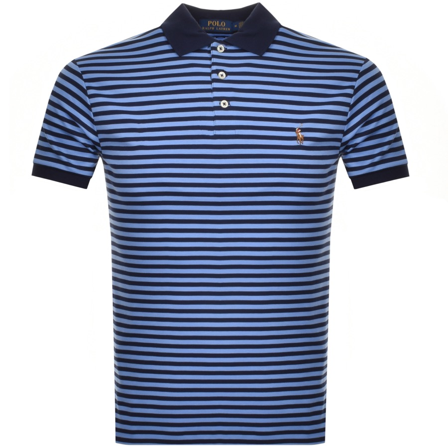 Ralph Lauren Short Sleeved Polo T Shirt Blue