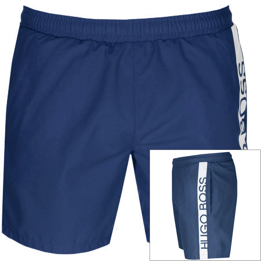 6f5cb232f26e1c BOSS HUGO BOSS Shorts Navy | Mainline Menswear