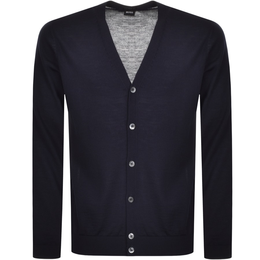 BOSS HUGO BOSS Mardon Cardigan Navy