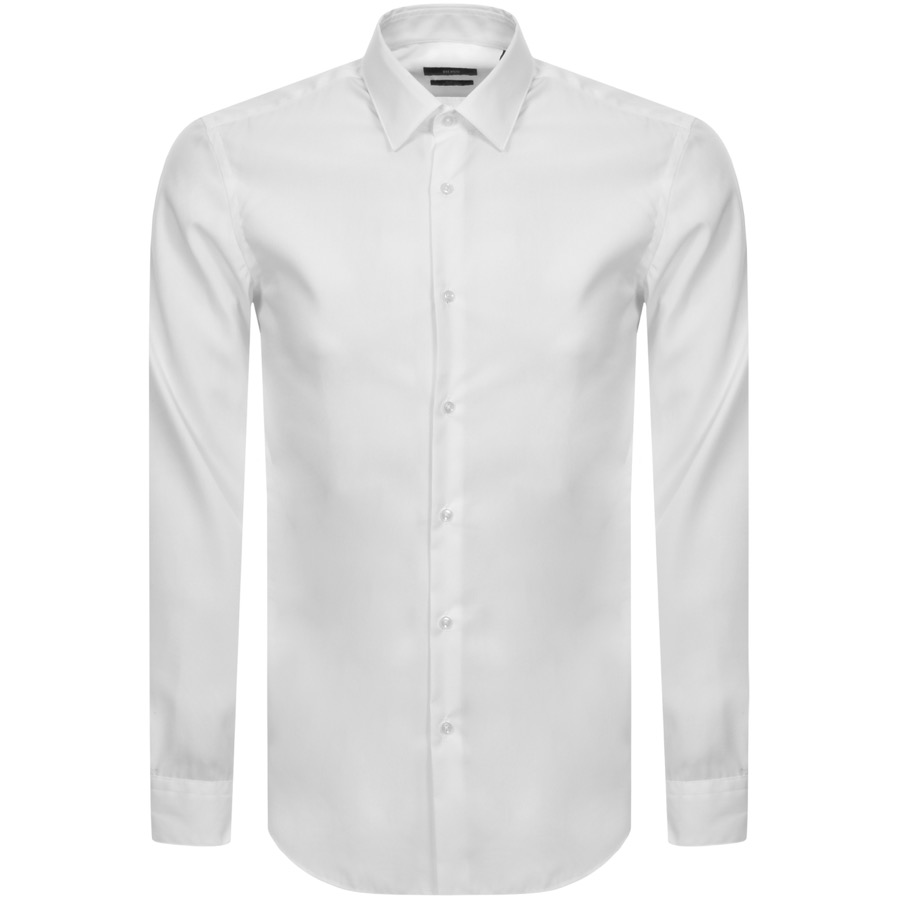 79ddd06f54 Product Image for BOSS HUGO BOSS Slim Fit Isko Shirt White