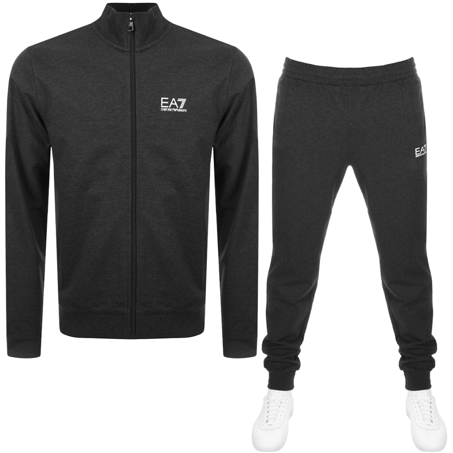 68a271693feac Product Image for EA7 Emporio Armani Core ID Tracksuit Grey