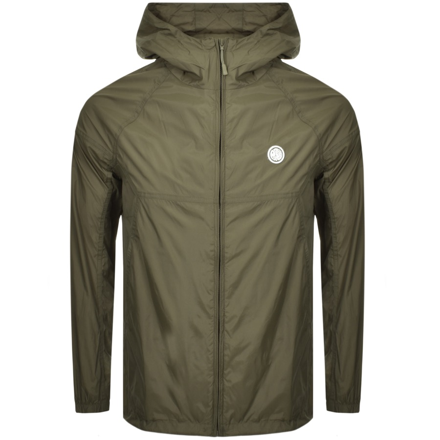97d83cbf69c18 Product Image for Pretty Green Lightweight Hooded Jacket Khaki