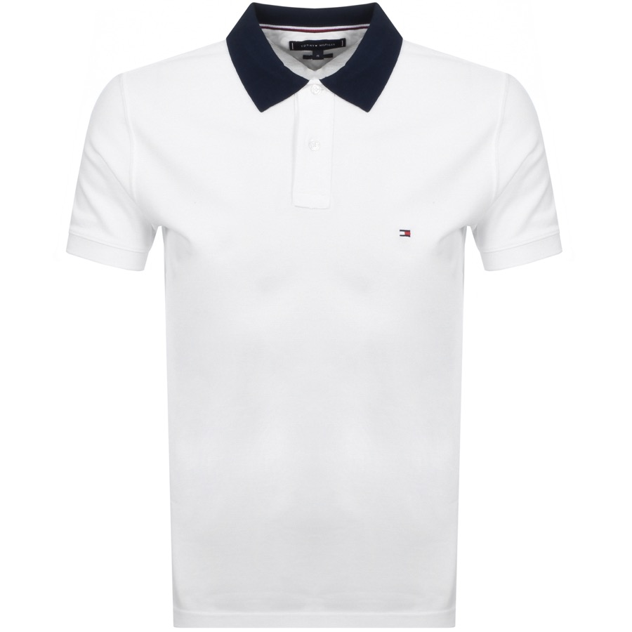 aad8fe005d Product Image for Tommy Hilfiger Short Sleeve Polo T Shirt White.