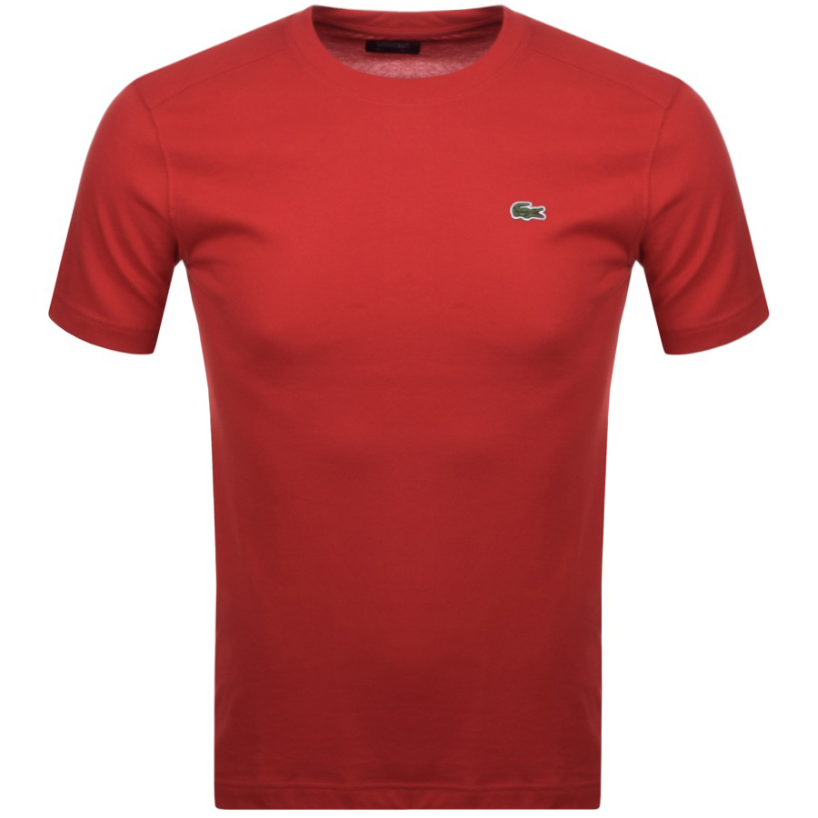 Lacoste Sport Ultra Dry T Shirt Red