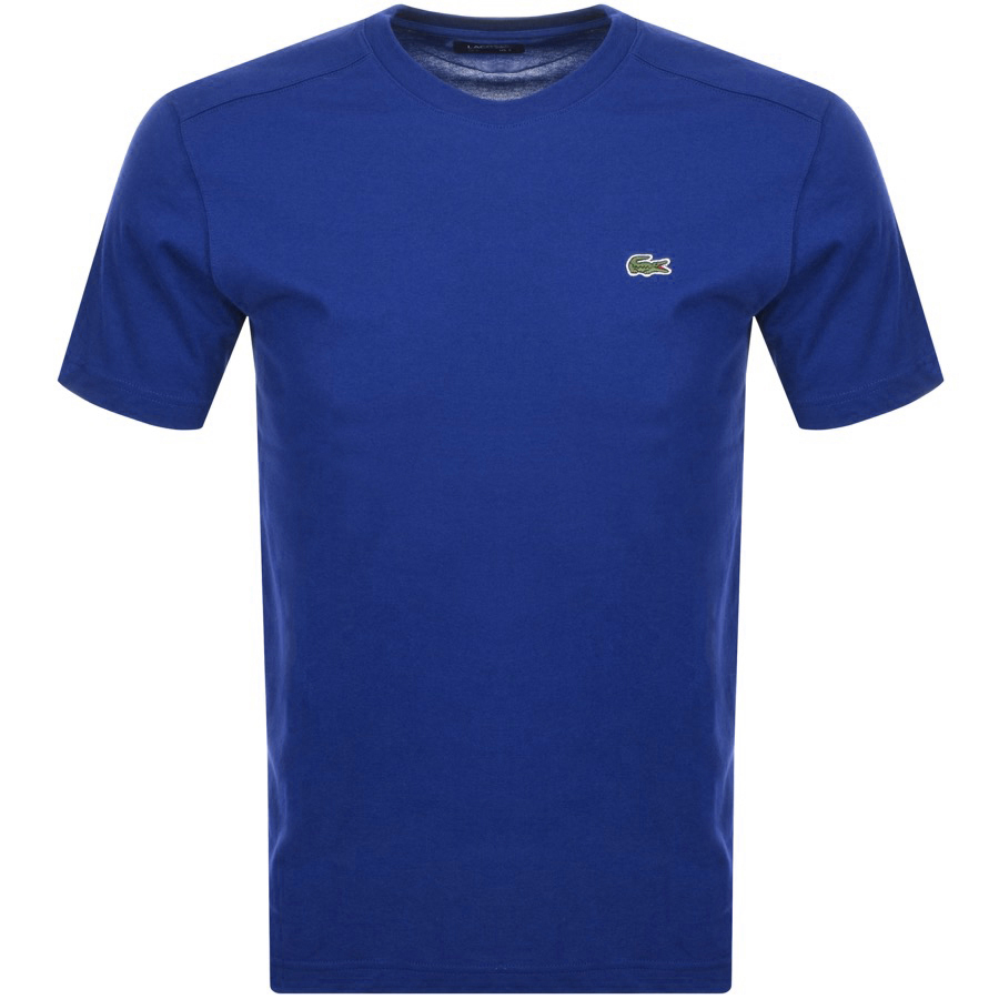 Lacoste Sport Ultra Dry T Shirt Blue