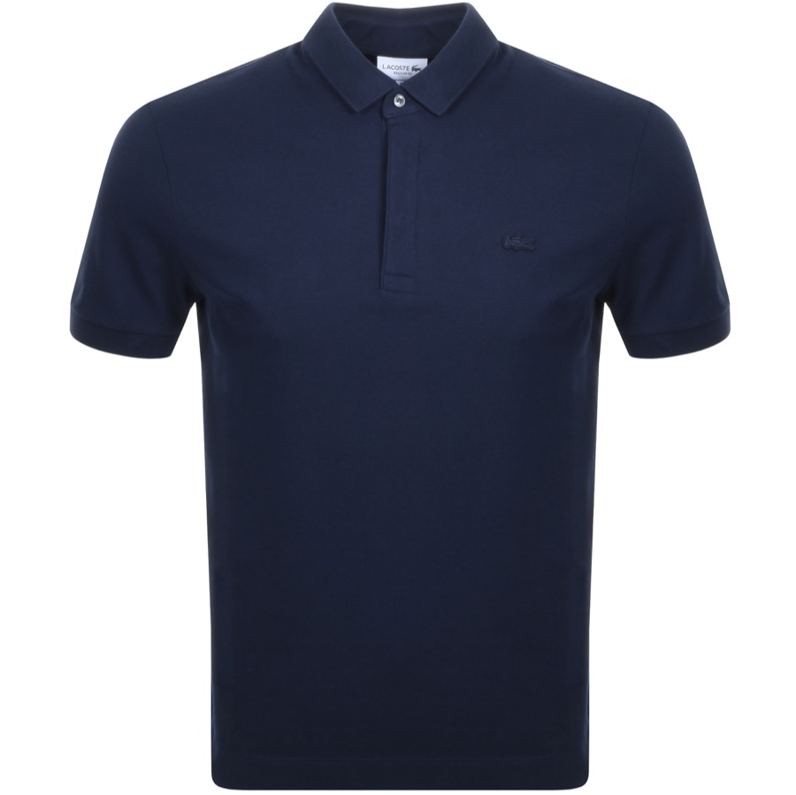 Lacoste Short Sleeved Polo T Shirt Navy
