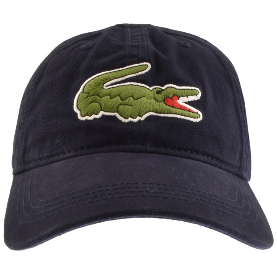 83c591360e Product Image for Lacoste Crocodile Cap Navy