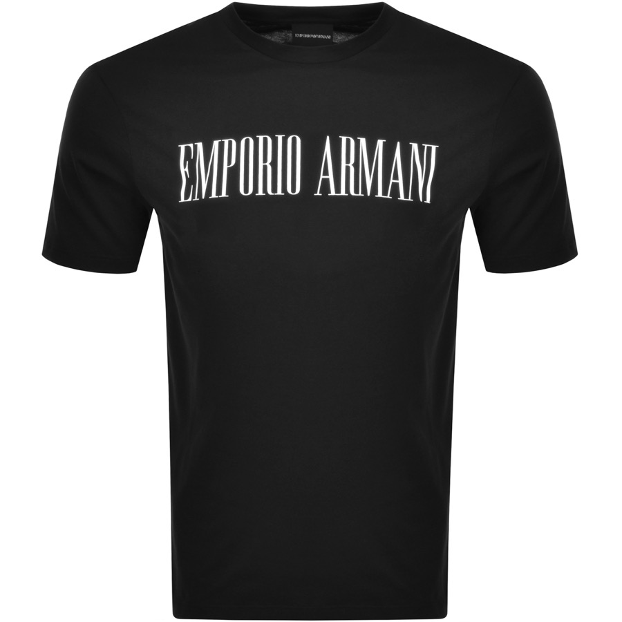 0ee8683f1e08 Product Image for Emporio Armani Crew Neck T Shirt Black