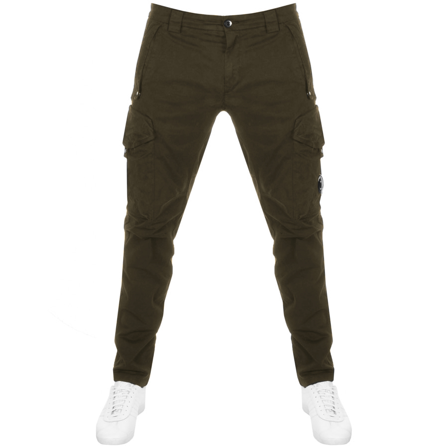 faf368fe8 Product Image for CP Company Cargo Trousers Green