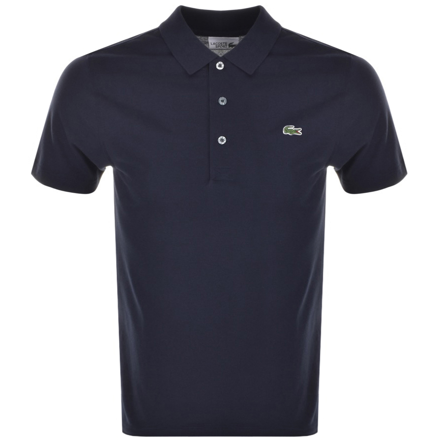 Lacoste Sport Polo T Shirt Navy