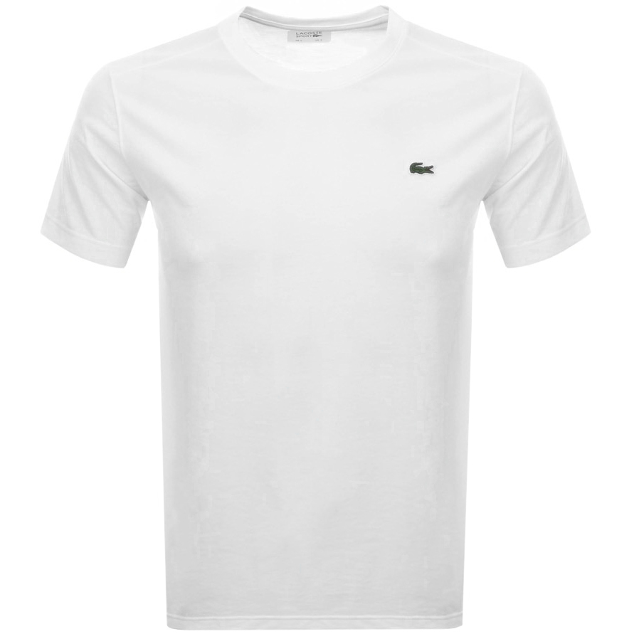 Lacoste Sport Ultra Dry T Shirt White