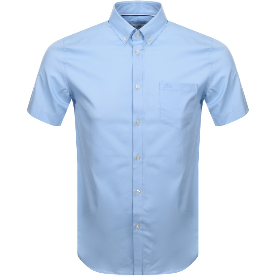 Lacoste Short Sleeved Shirt Blue