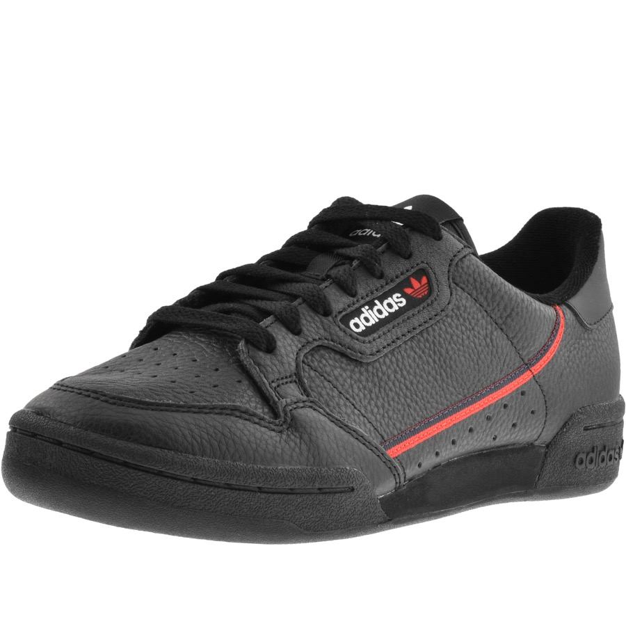 Adidas Originals Continental 80 Trainers Black