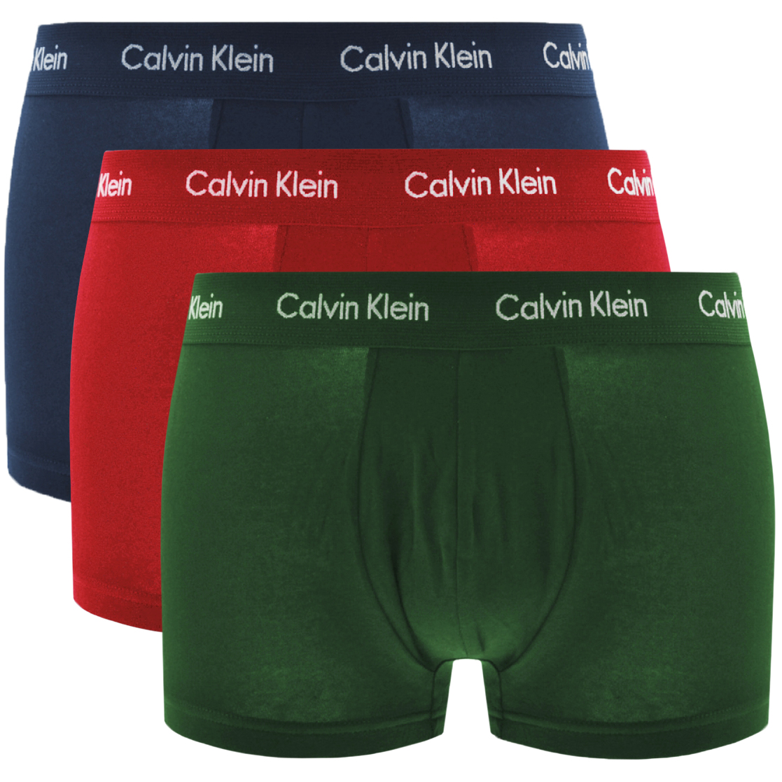 50b7d2f3b9e770 Product Image for Calvin Klein Underwear 3 Pack Boxer Trunks