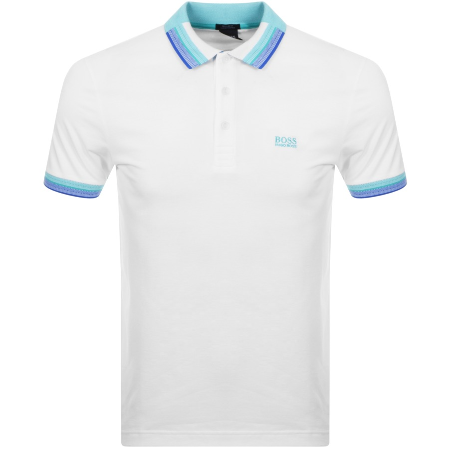 36fa9479 Product Image for BOSS Athleisure Paddy 1 Polo T Shirt White