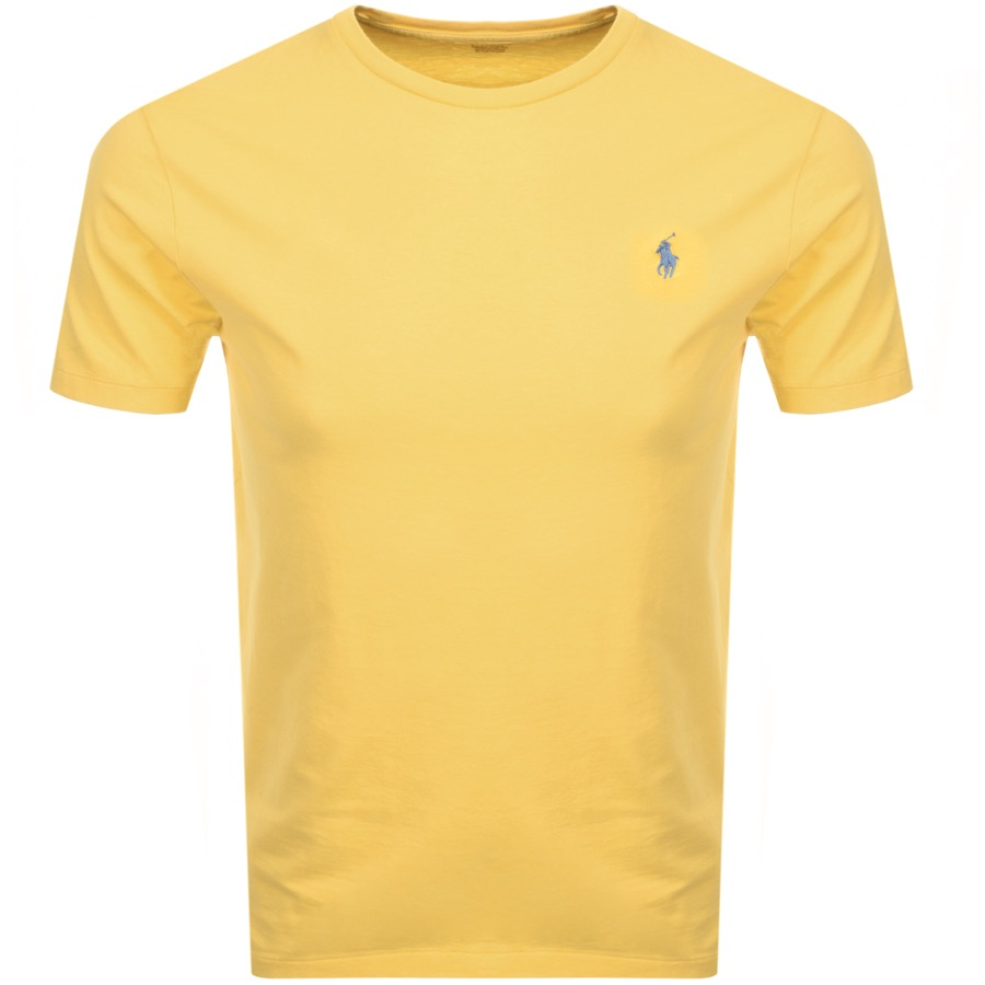 Ralph Lauren Crew Neck T Shirt Yellow