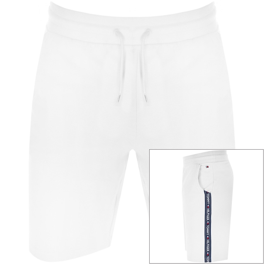 Tommy Hilfiger Lounge Icon Logo Shorts White
