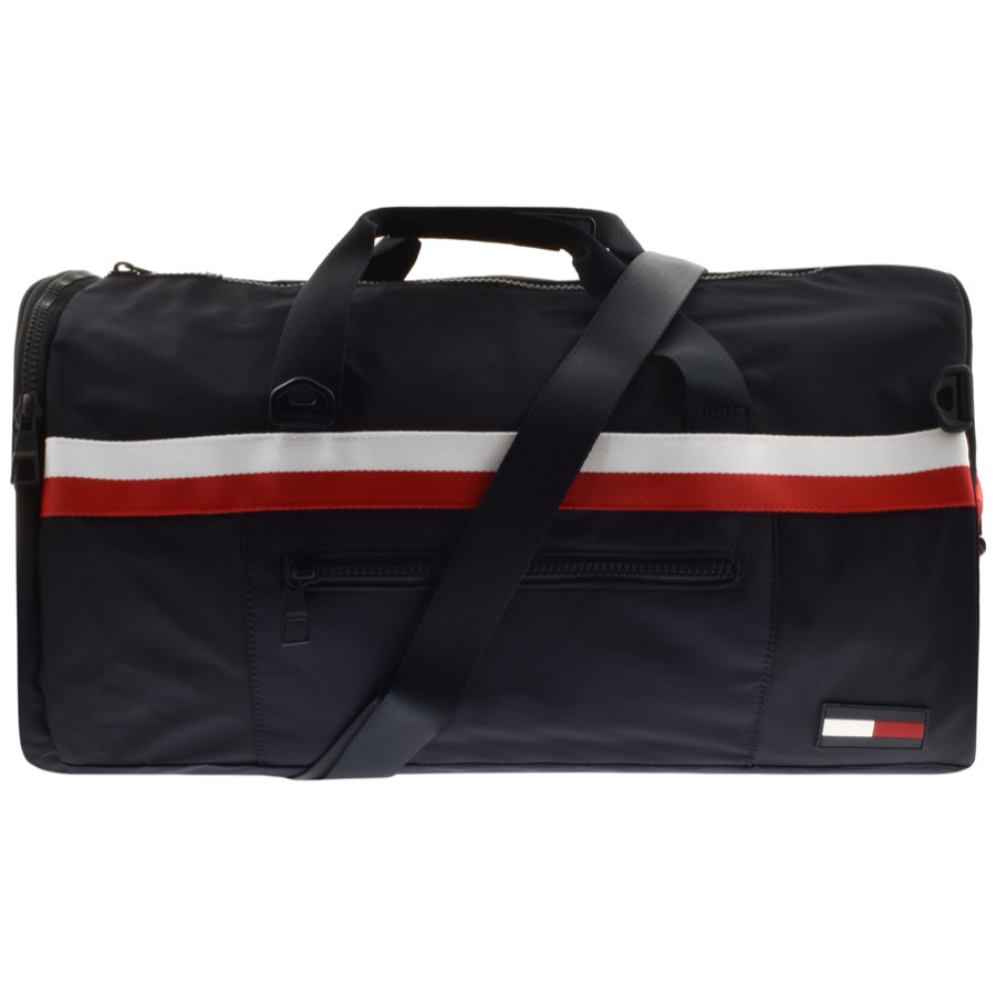 Tommy Hilfiger Sports Tape Duffle Bag Navy
