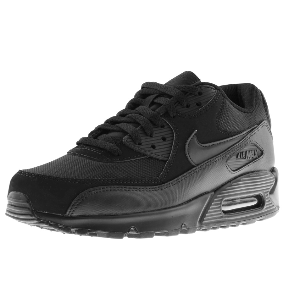 finest selection 2f650 f85ed Product Image for Nike Air Max 90 Essential Trainers Black