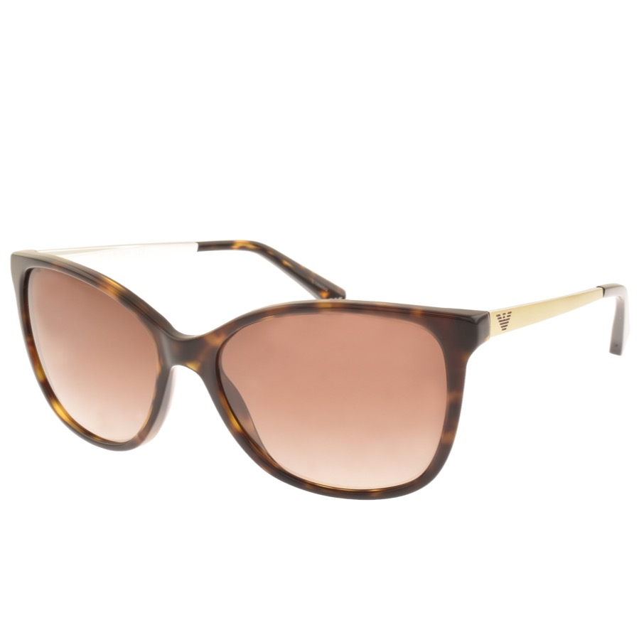 Emporio Armani EA4025 Sunglasses Brown