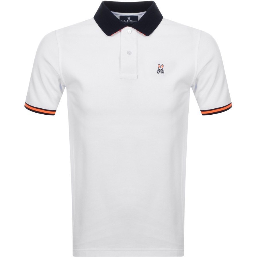 e9f8c983 Product Image for Psycho Bunny Derwent Polo T Shirt White