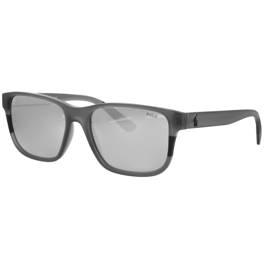 Ralph Lauren Polo Player Sunglasses Grey