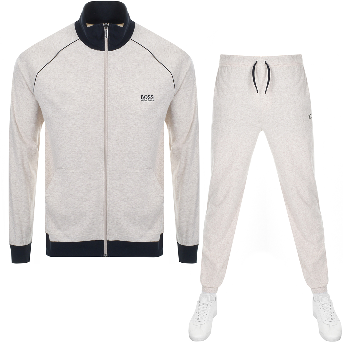 344aa81e0d Product Image for BOSS HUGO BOSS Lounge Tracksuit Beige Marl
