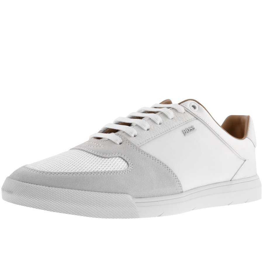 3bde25fa402 Alternative Image for ProductBOSS HUGO BOSS Cosmo Trainers White1 ...