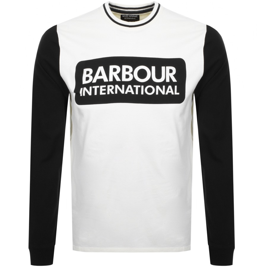 Main Product Image for Barbour International Glide Logo T Shirt White