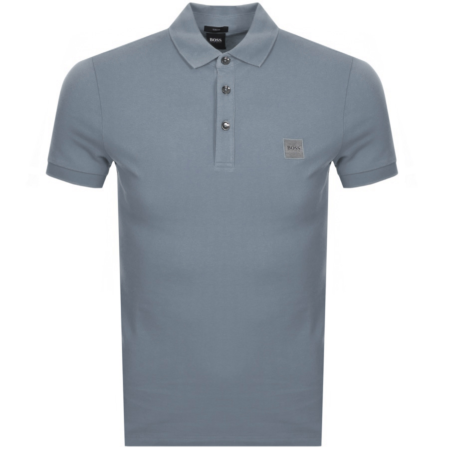 Main Product Image for BOSS Casual Passenger Polo T Shirt Grey