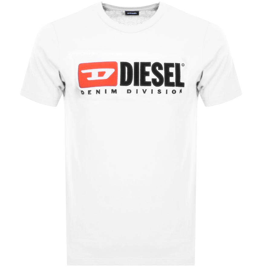 Diesel T Just Division T Shirt White
