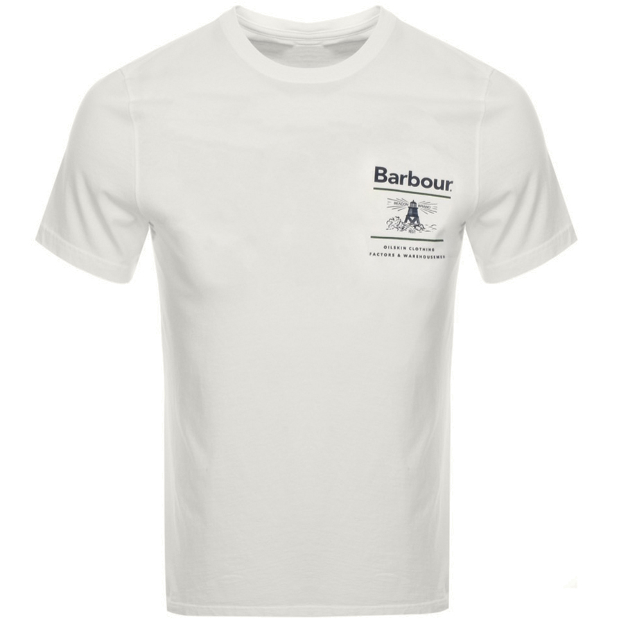 Barbour Reeds T Shirt Cream