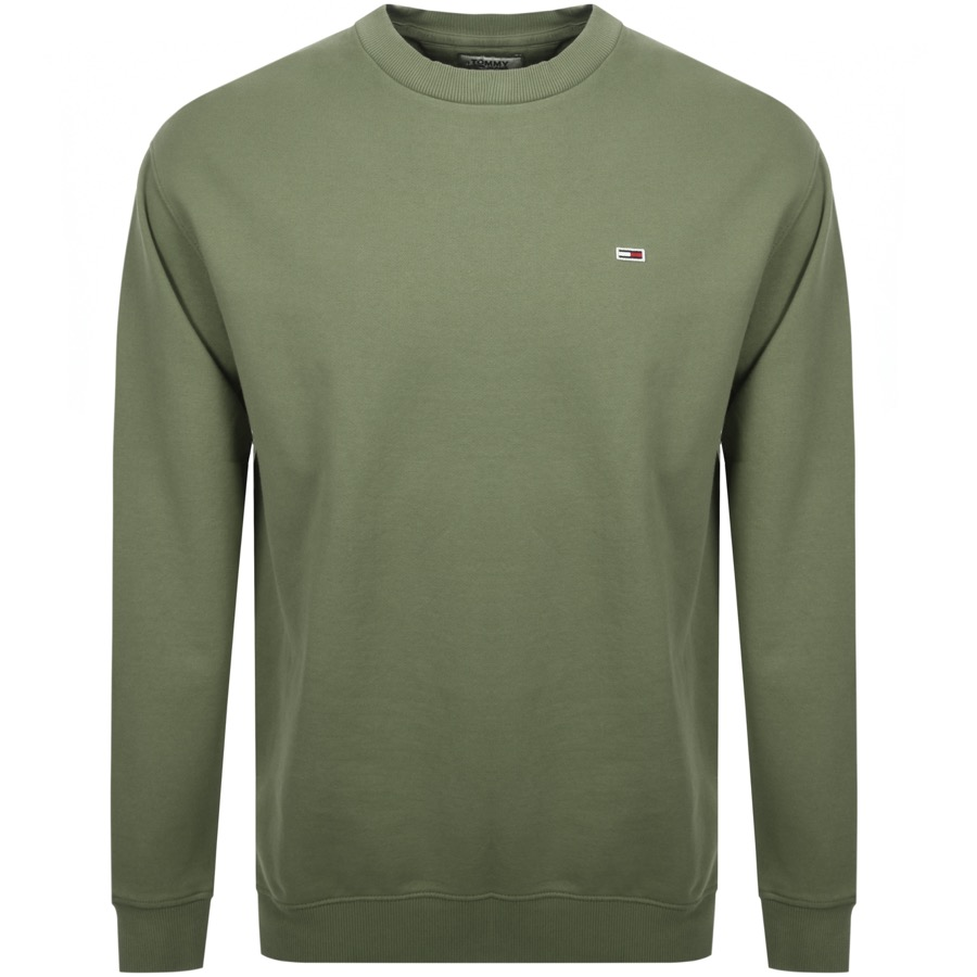 Main Product Image for Tommy Jeans Washed Sweatshirt Green