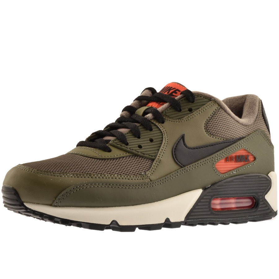 reputable site 2afff 2f4d4 Nike Air Max 90 Essential Trainers Green | Mainline Menswear