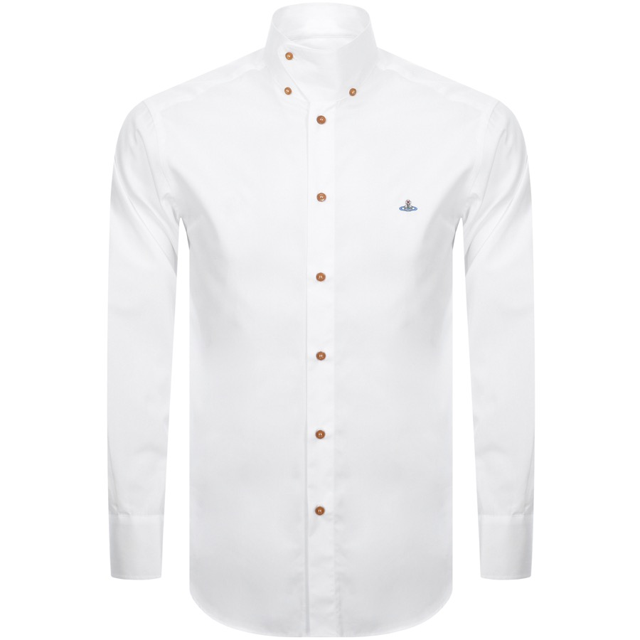 Vivienne Westwood Prince Harry Classic Shirt White