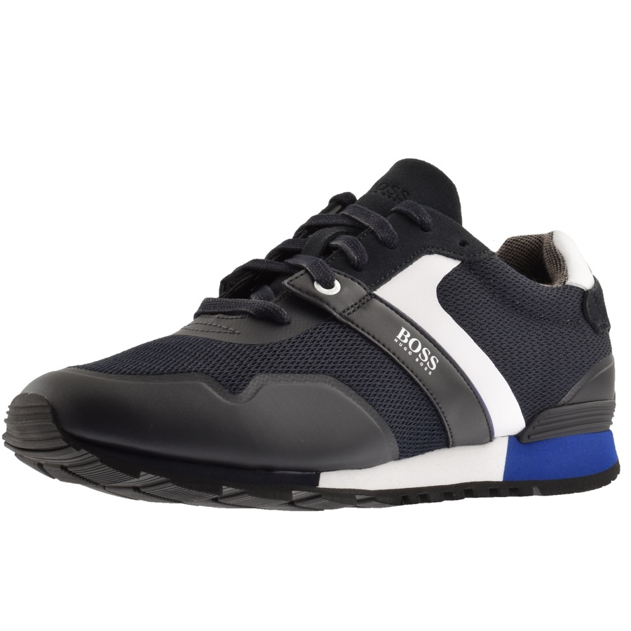 BOSS Athleisure Parkour Runn Trainers Navy
