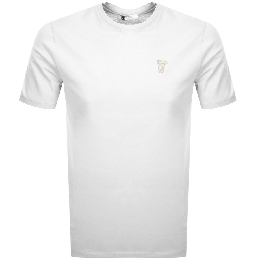 8863689c2a6 Product Image for Versace Collection Medusa Logo T Shirt White