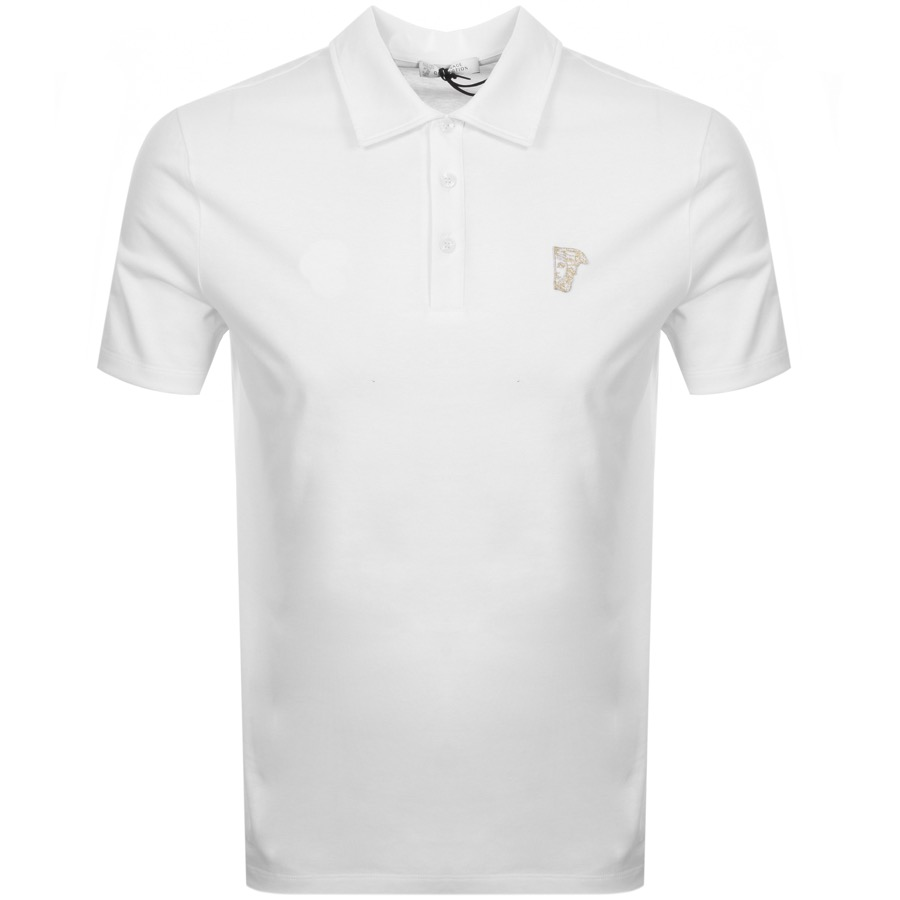 Main Product Image for Versace Collection Medusa Polo T Shirt White