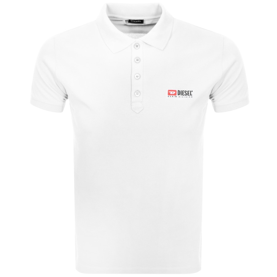 4fb8ac75a12 Product Image for Diesel T Weet Polo T Shirt White