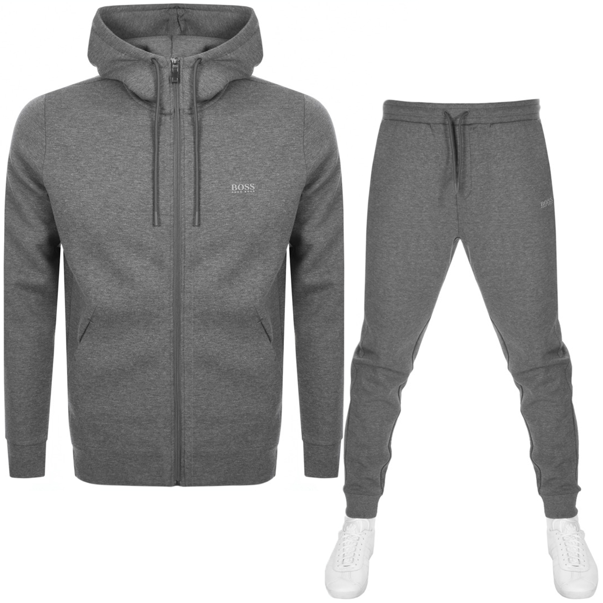 4c0317c1 Product Image for BOSS Athleisure Tracksuit Grey