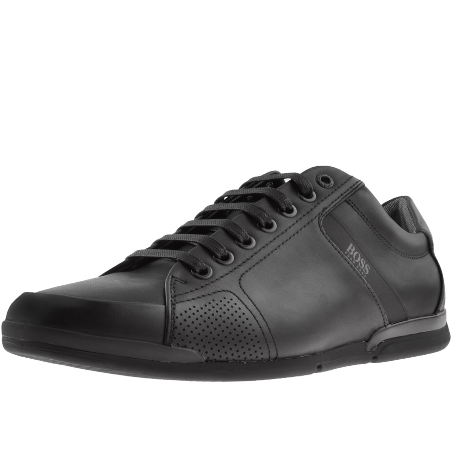Main Product Image for BOSS Athleisure Saturn Lowp Lux 4 Trainers Black