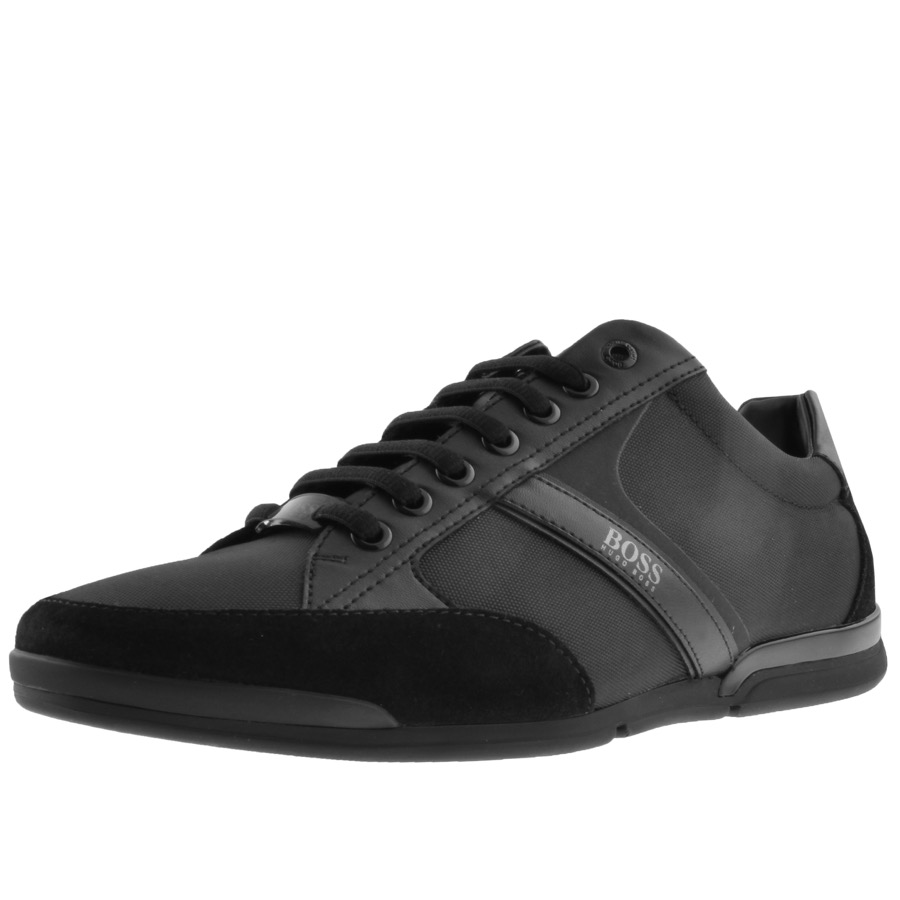Main Product Image for BOSS Athleisure Saturn Lowp Trainers Black
