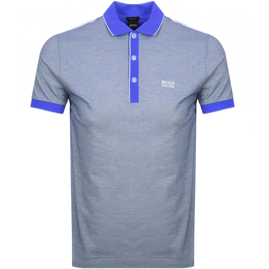 858a7b38a47 Product Image for BOSS Athleisure Paddy 2 Polo T Shirt Blue