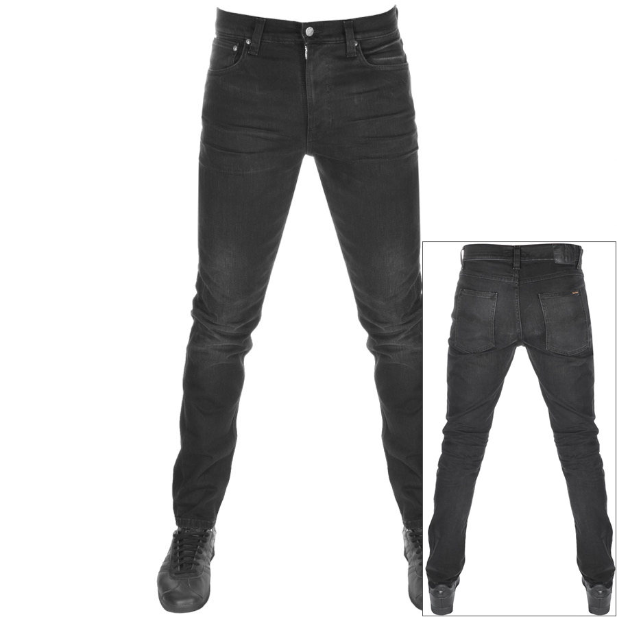 Main Product Image for Nudie Jeans Lean Dean Slim Tapered Jeans Black