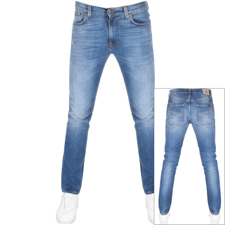 Main Product Image for Nudie Jeans Lean Dean Slim Tapered Jeans Blue