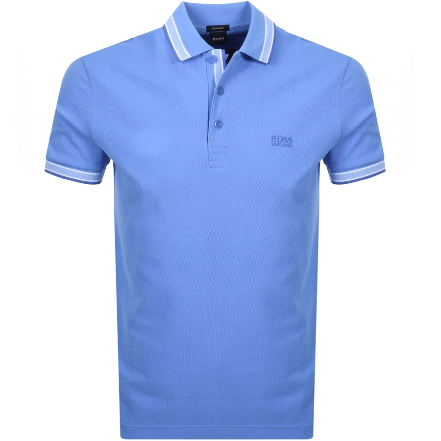 BOSS Athleisure Paddy Polo T Shirt Blue