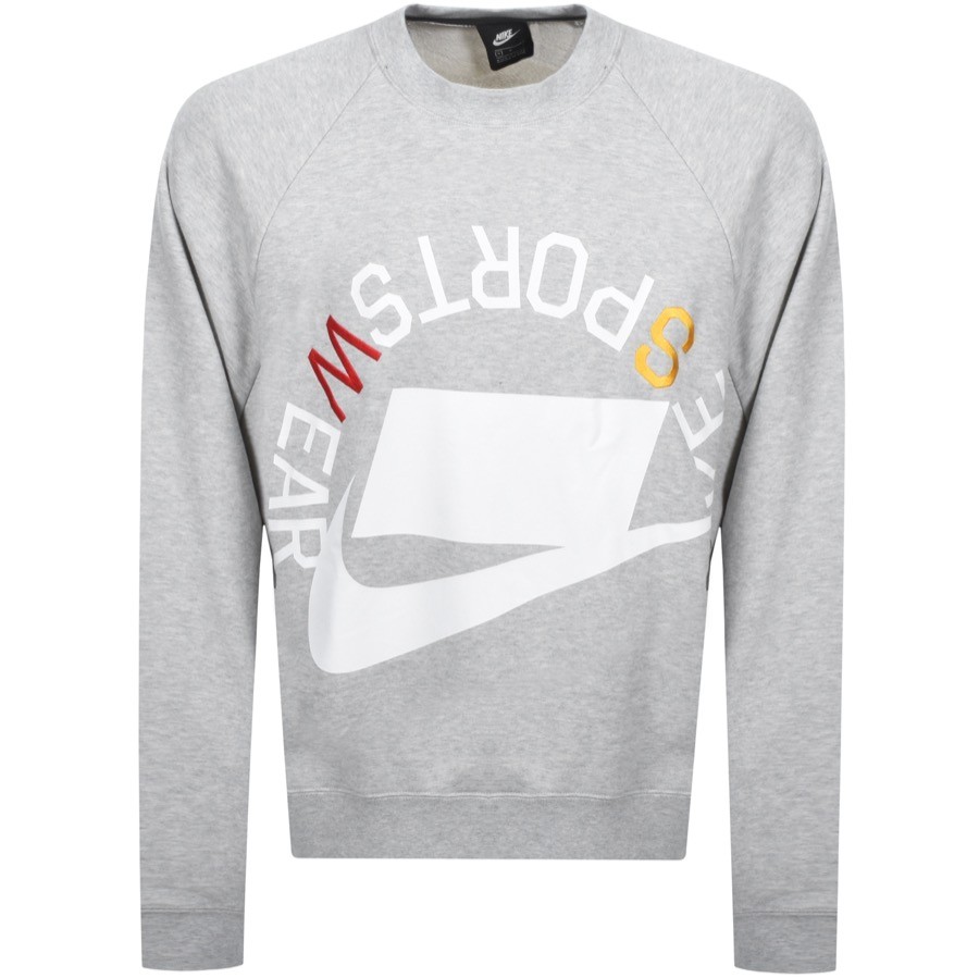 b965cf3539baee Product Image for Nike Crew Neck Sportswear Sweatshirt Grey