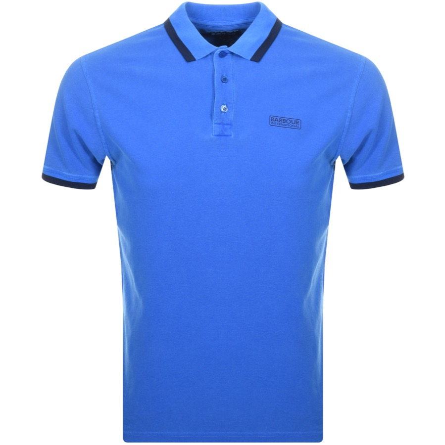 Barbour International Pinon Polo T Shirt Blue
